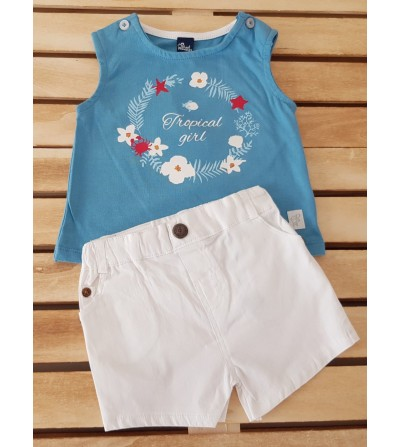 Conjunto de niña little cruise